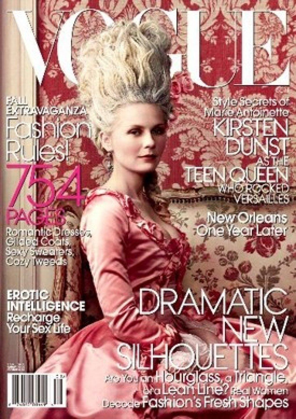 Kirsten Dunst cover Vogue USA 2006