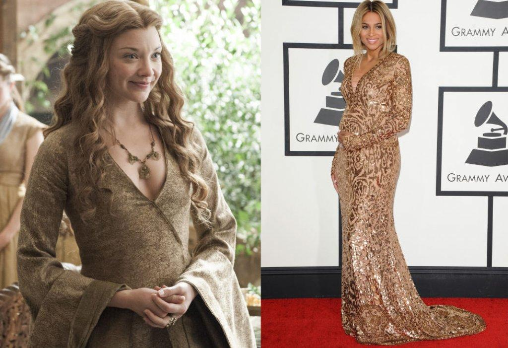 Margaery Tyrell VS Ciara in Pucci