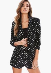 Blazer pois missguided